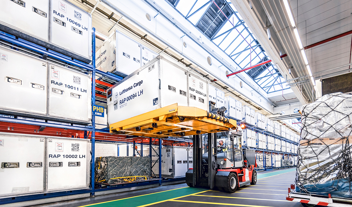 Lufthansa Cargo, Frankfurt Airport, Modernization