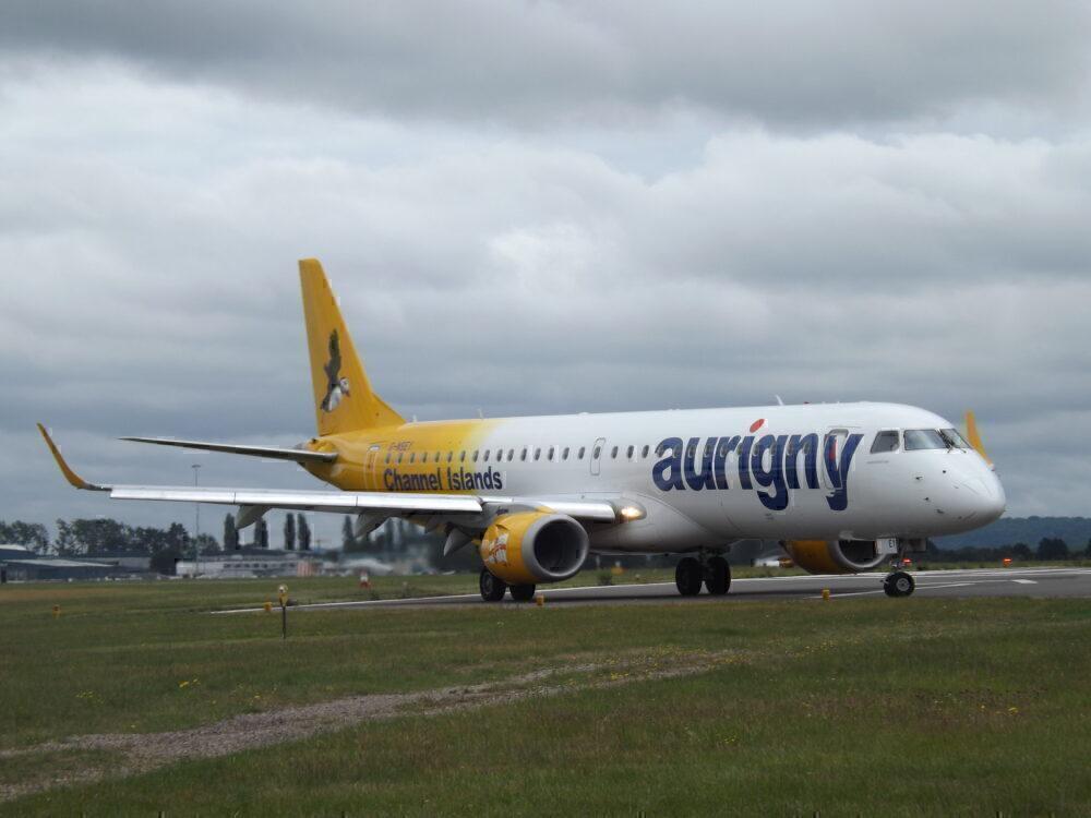 Aurigny Embraer 195 Oxford