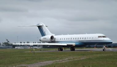 Bombardier Global BD700 London Oxford
