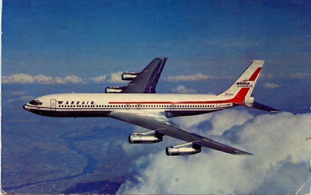 Wardair Boeing 707