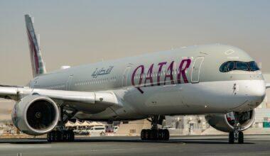 Qatar Airways, Airbus A350, LATAM Codeshare