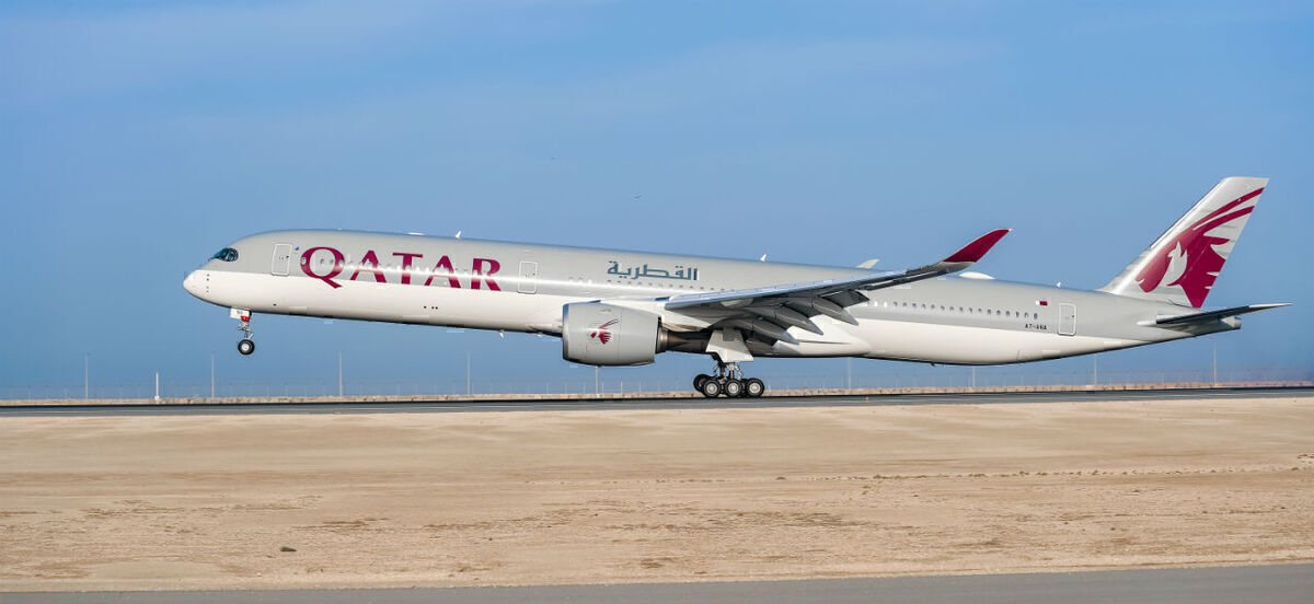 Qatar Airways, Airbus A350, LATAM Codeshare