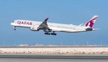 Qatar Airways A350 Saudi