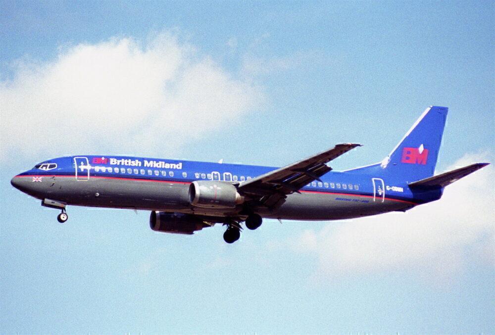 British Midland Boeing 737-400 2