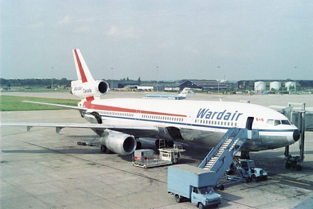 Wardair DC-10 Manchester