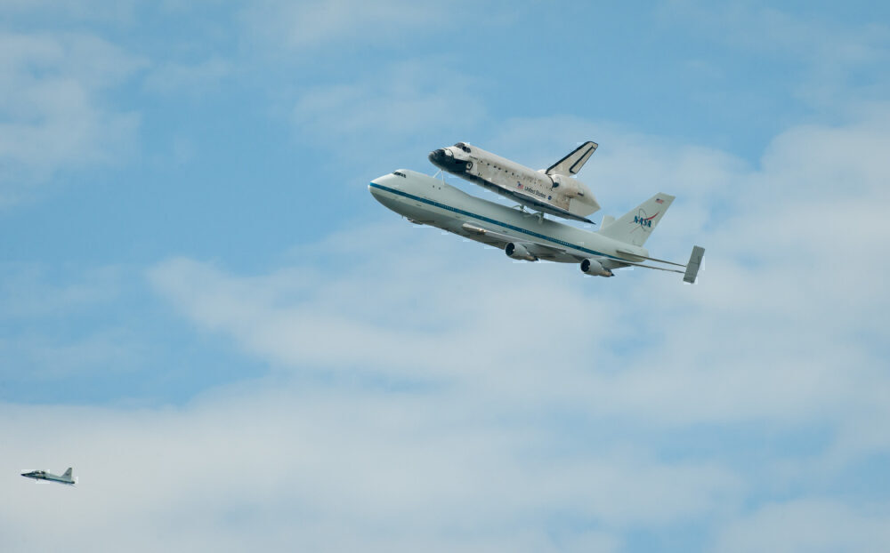 NASA 747 with Shuttle