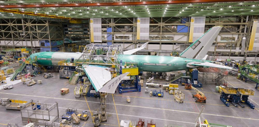 Emirates, Boeing 777X, 2024