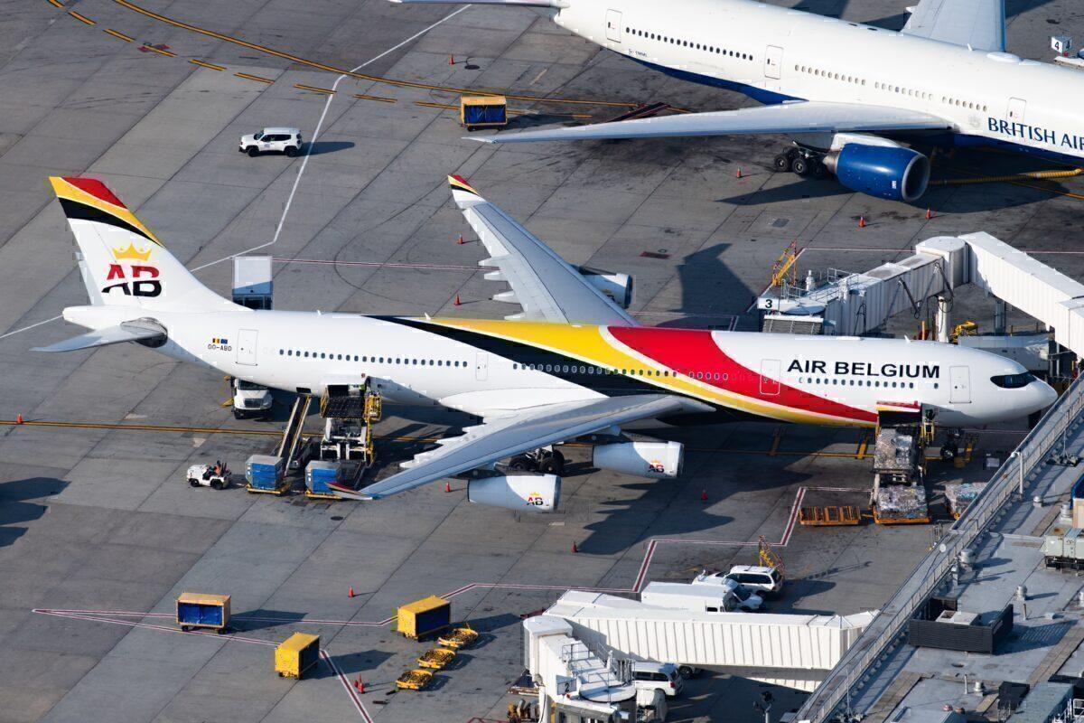 Air Belgium, Airbus A340,