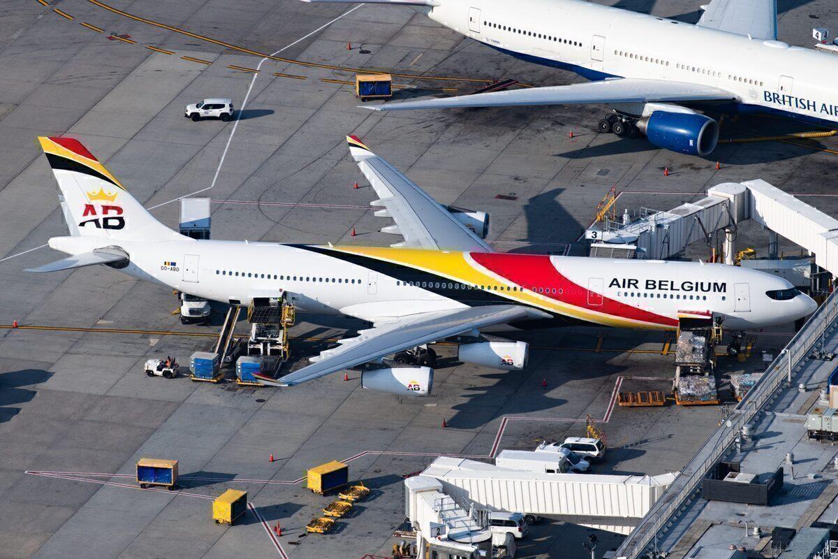 Air Belgium, Airbus A340, Retirement