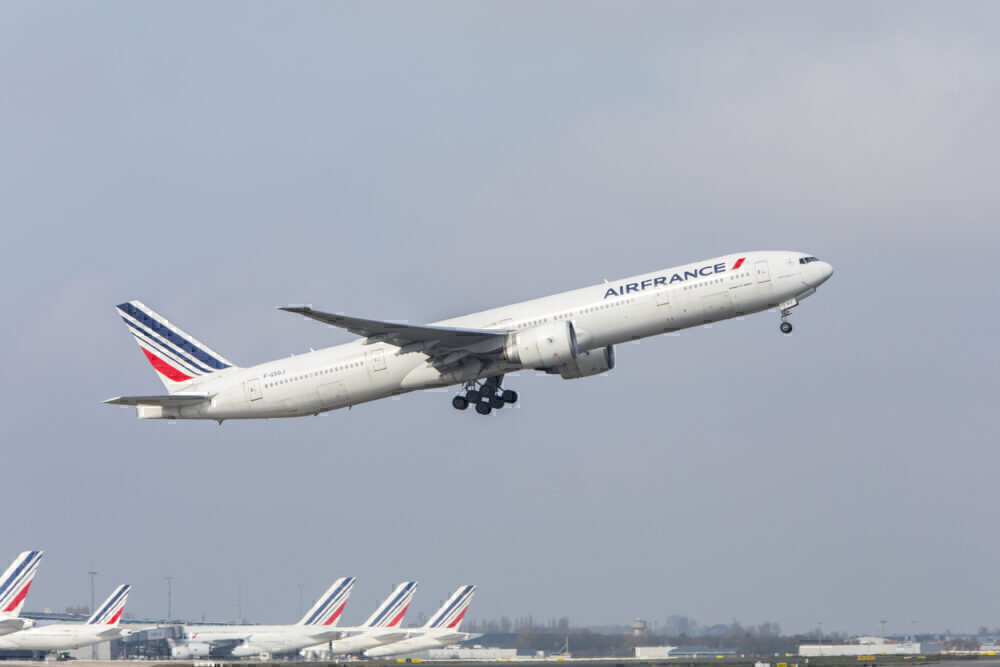 AirFrance Boeing 777-300 4