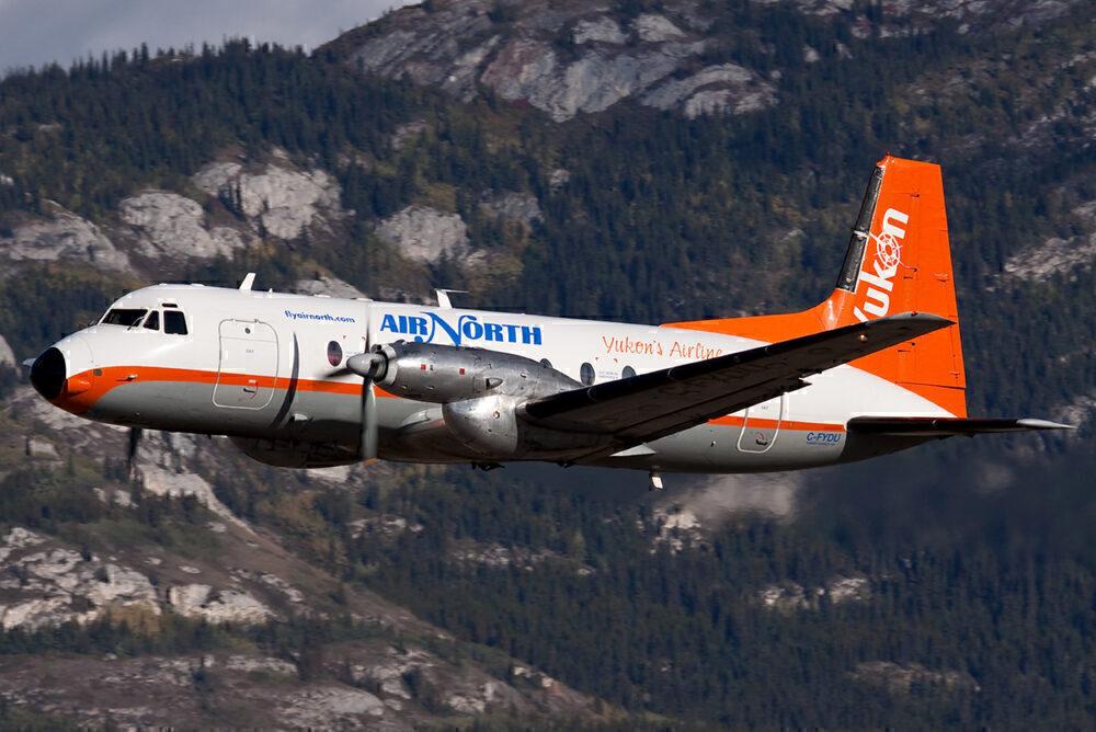 Hawker Siddeley HS-748 of Air North
