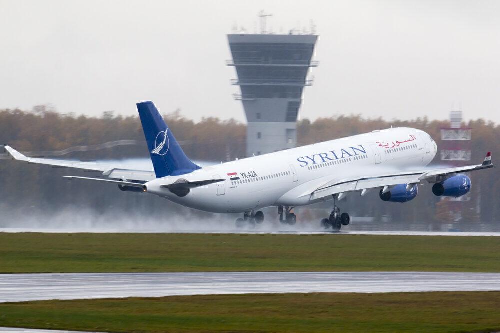 Syrian Air A340-300