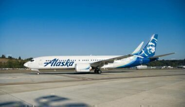 Alaska Airlines Boeing 737 MAX