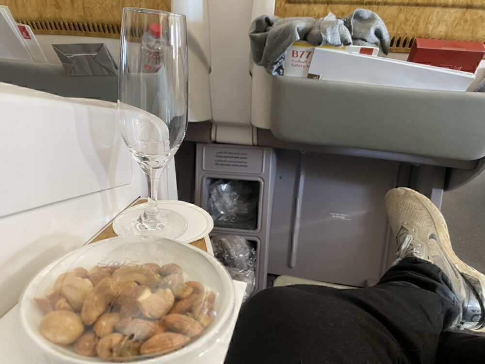 Review: Flying Emirates 777-300ER Business Class During COVID-19