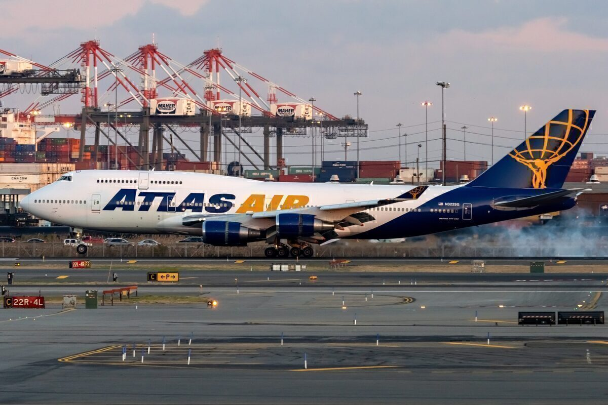 Boeing 747-8f, Freighter, Atlas Air