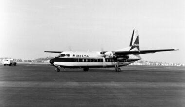 Delta Fairchild-Hiller FH-227B