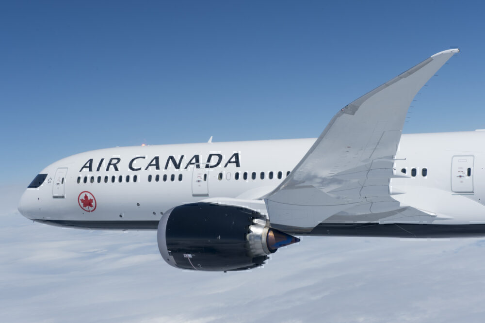 Air Canada 787-9 Wing