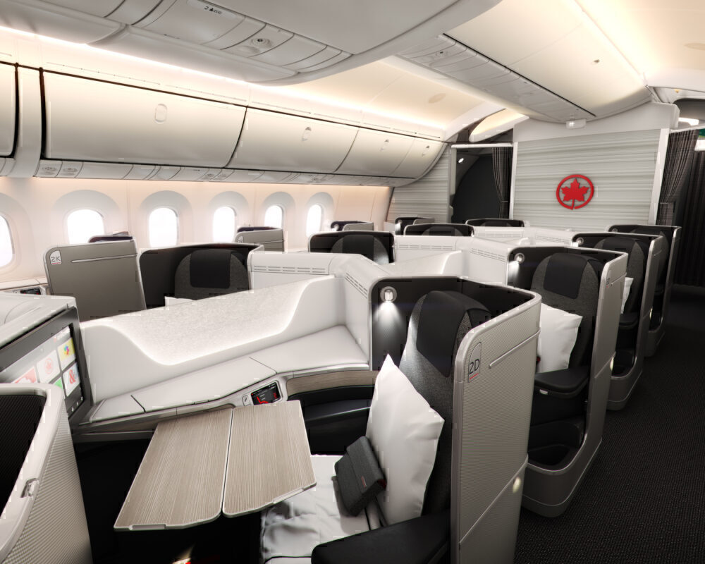Air Canada 787-9 Business Class