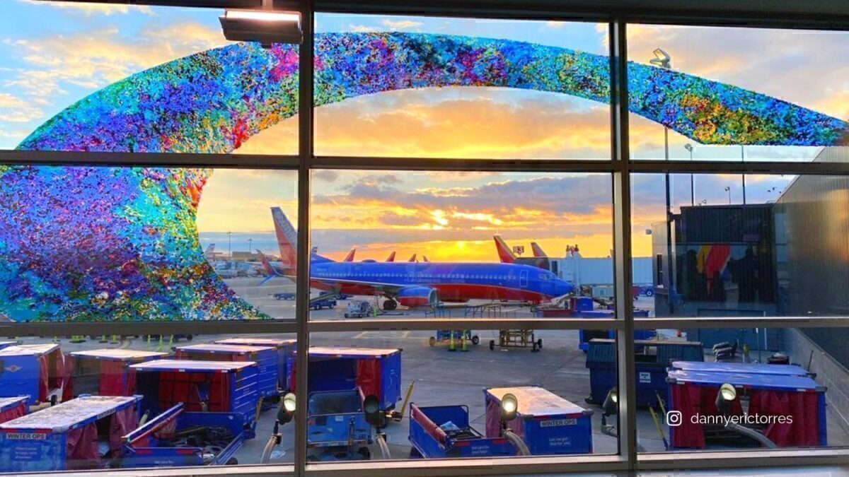 Southwest planes at BWI