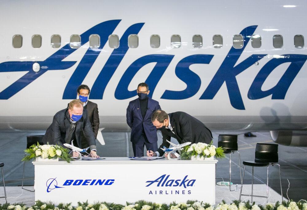 Alaska Boeing Agreement