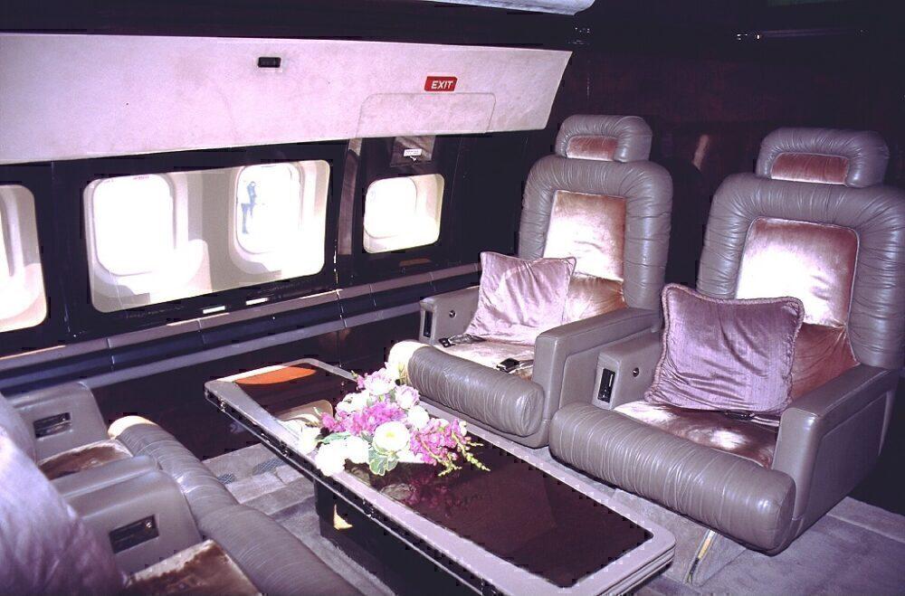 John Travolta Boeing 707 Interior