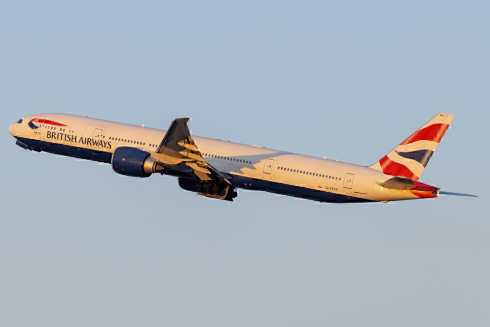 British Airways Boeing 777-300ER New York JFK