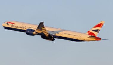 British Airways Boeing 777-300ER New York JFK