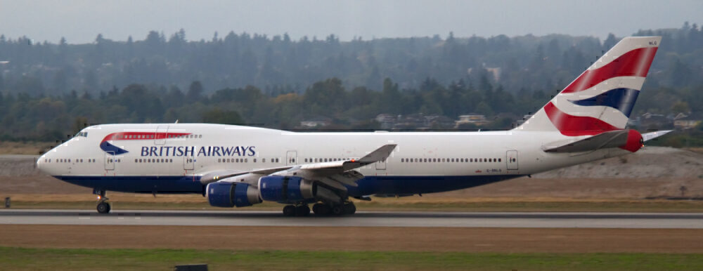 Why A British Airways 747 Once Flew From LA To The UK On 3 Engines