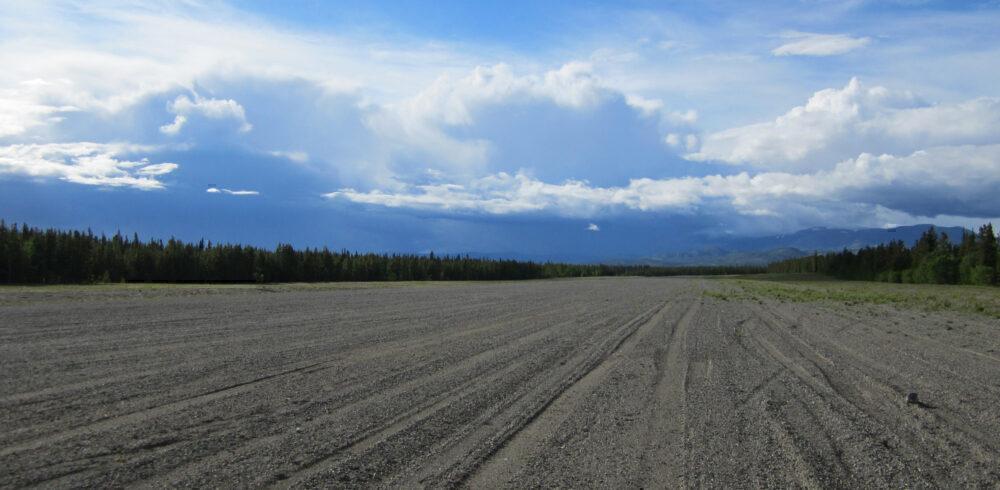 Whitehorse gravel runway