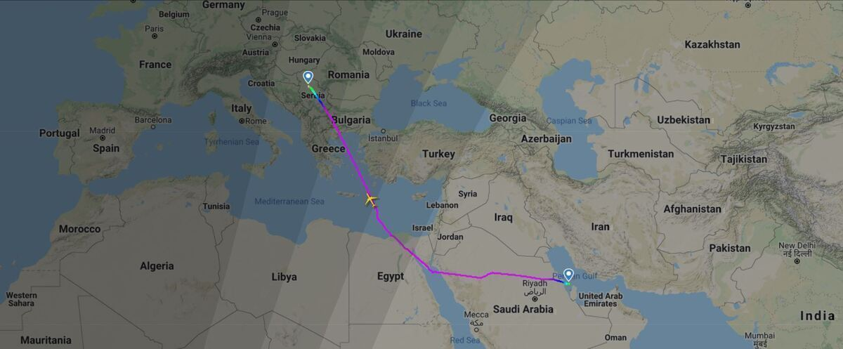 Air Serbia Bahrain