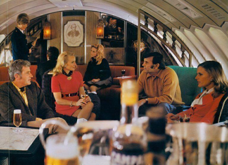 Qantas Captain Cook lounge