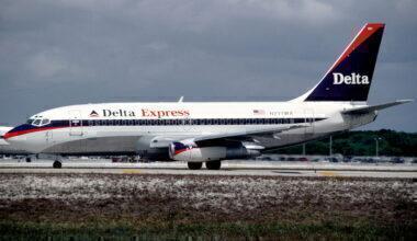 Delta Express 737