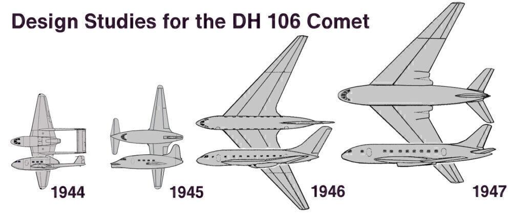 Comet designs