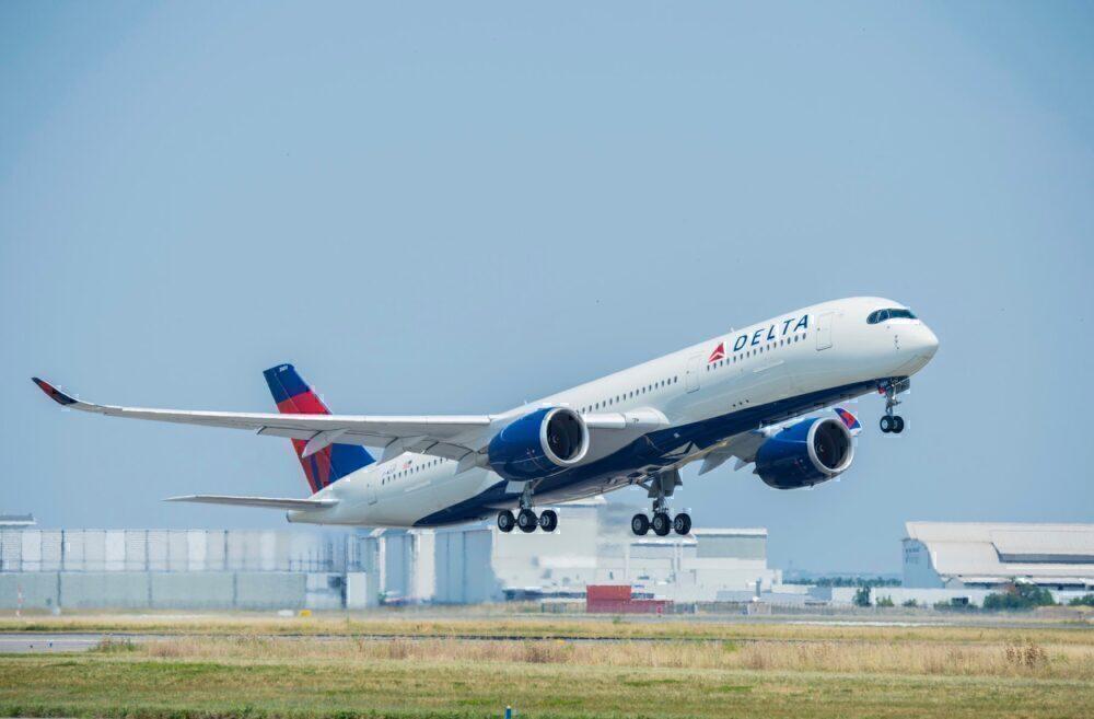 Delta A350 Aircraft