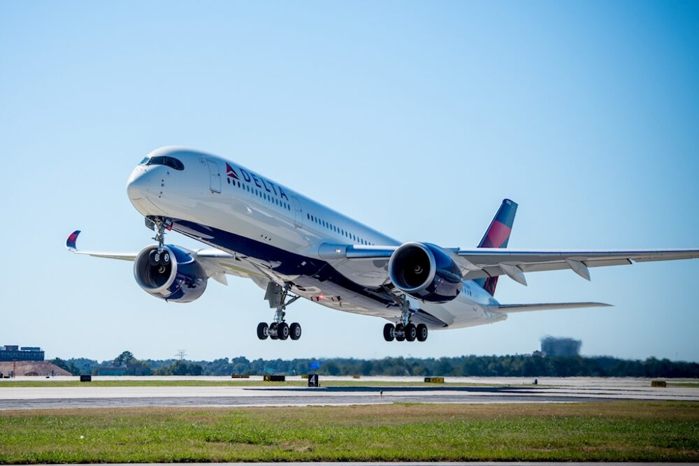 Delta A350 Jet