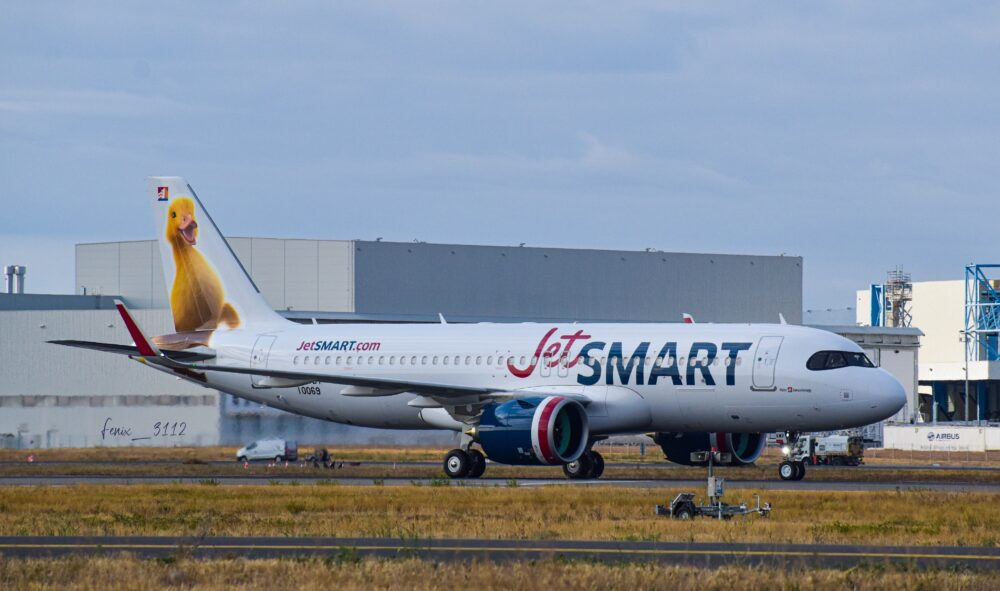 Duck A320neo for JetSmart