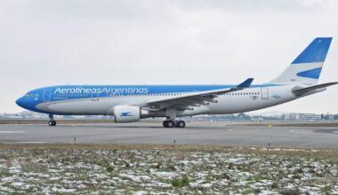Aerolíneas Argentinas Airbus A330