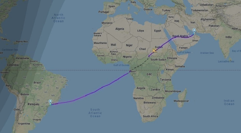 EK9255 Flightpath 22Jan2021