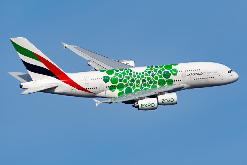 Emirates Airbus A380 New York JFK