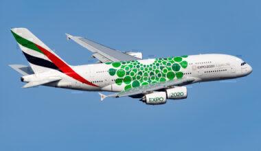 Emirates Airbus A380 New York JFK