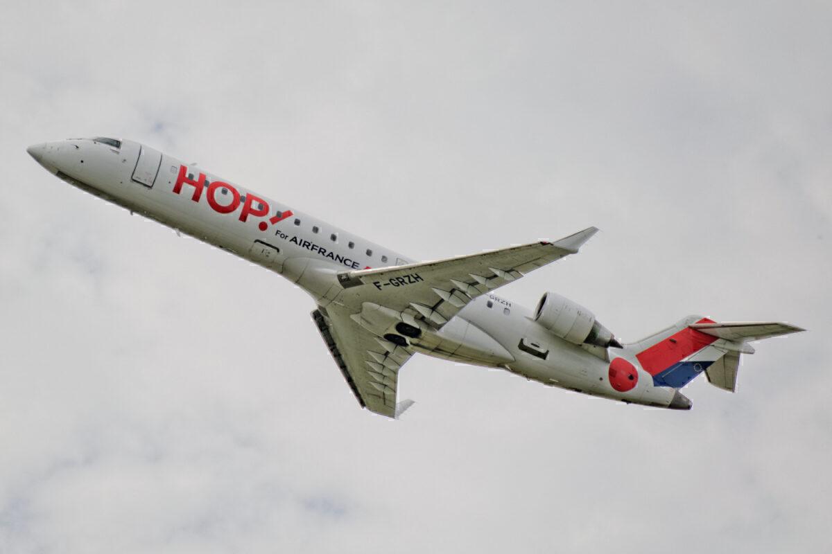 F-GRZH - Bombardier CRJ700 - HOP!