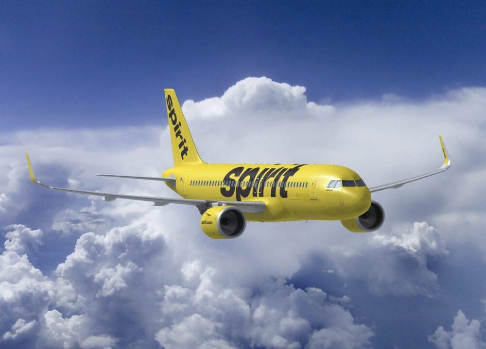 Spirit A320neo Aircraft