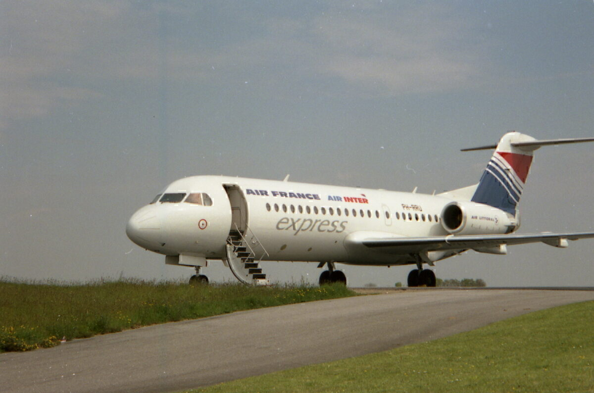 Air Inter Air France Fokker_70