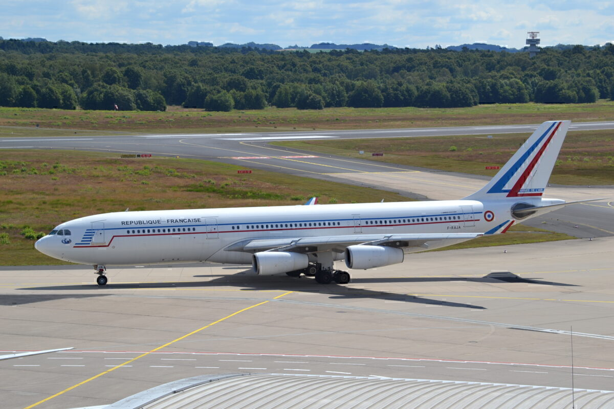 French Air Force Airbus A340-200-F-RAJA