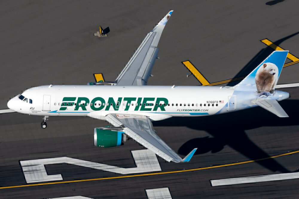 Frontier Airlines Airbus A320
