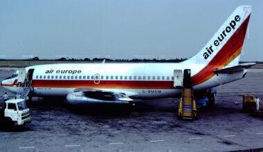 Air Europe Boeing 737-200