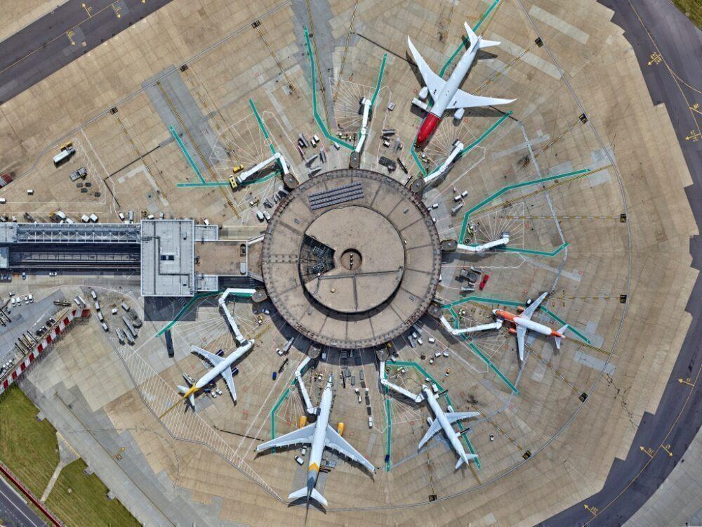 Gatwick Airport gates