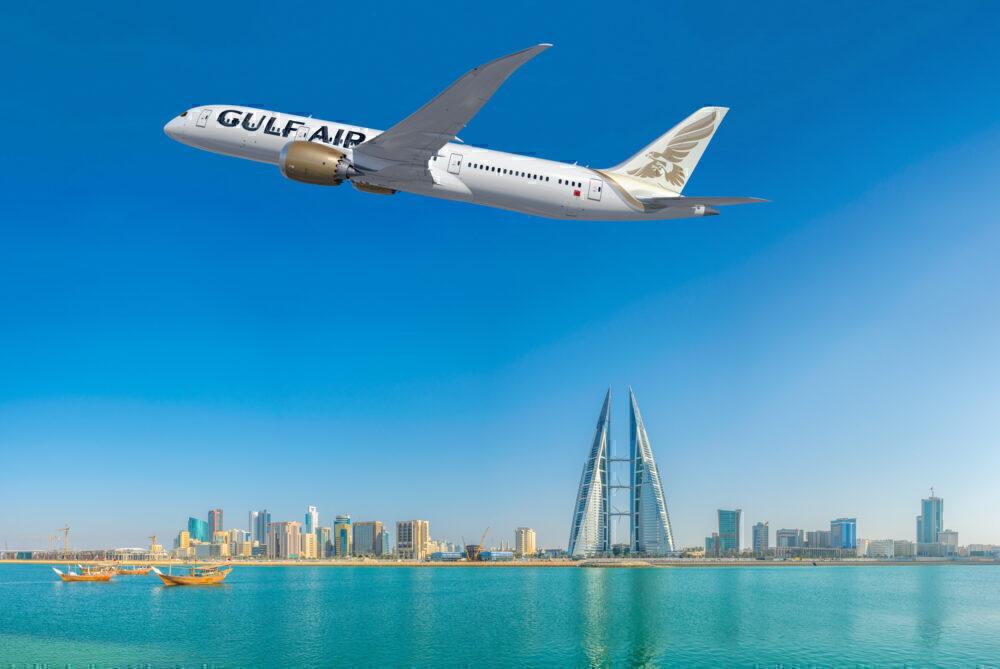 Gulf Air Dreamliner