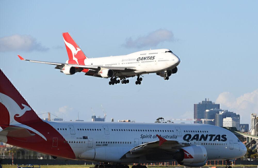Boeing 747 A380