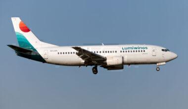 Lumiwings Boeing 737 Getty